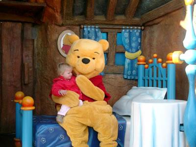 Meike in Disneyland Parijs - 2005