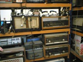 Verzameling radio's