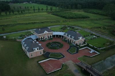 Huis vanuit de lucht