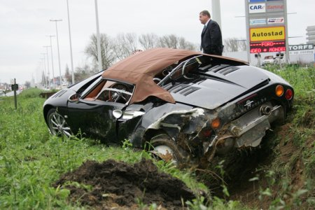 Spykerhard ongelukje