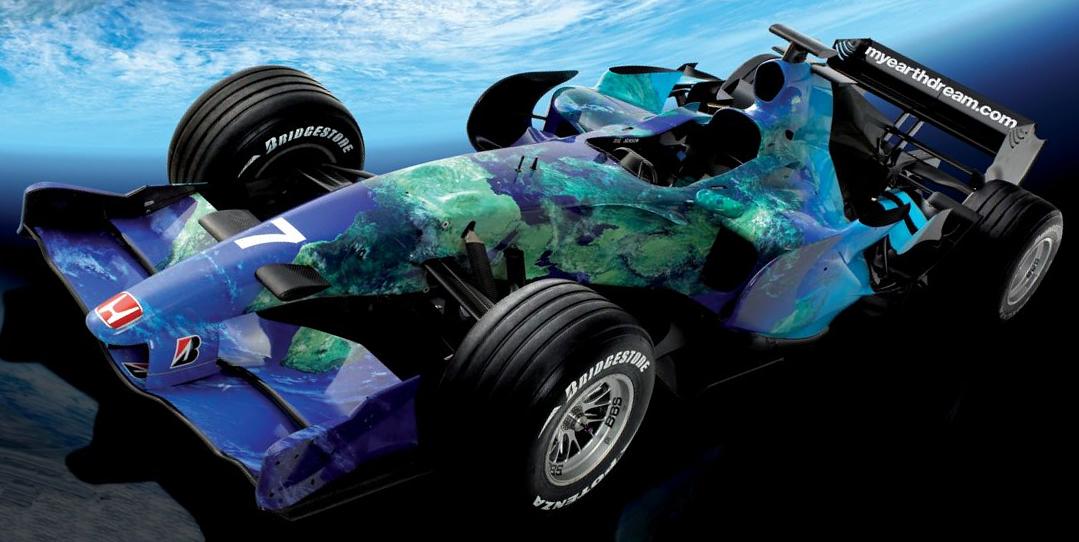 Honda Ra107 (nieuwe kleurstelling)